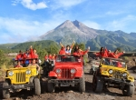 5 DAYS 4 NIGHTS MERAPI JEEP TOUR - BOROBUDUR - KALIBIRU & TIMANG BEACH (GROUND ONLY OR WITH FLIGHT)