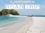 5 DAYS 4 NIGHTS FROM KL! - KRABI - HADYAI ROAD TRIP